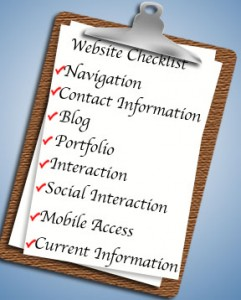 Basic Website Checklist: How Does Your Website Stand Up?