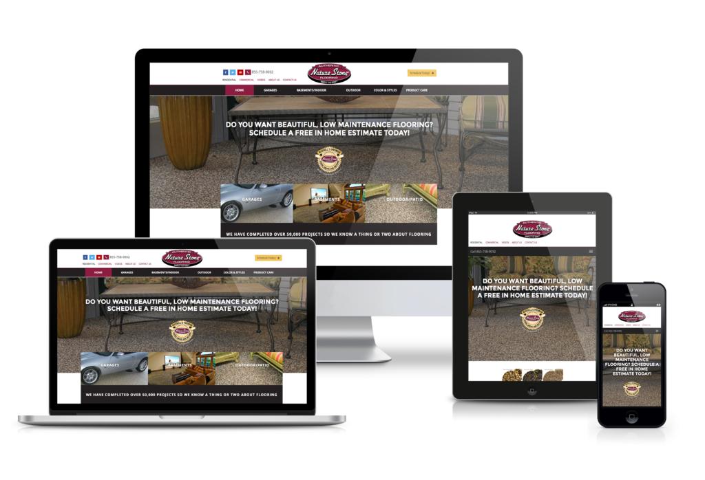 Nature Stone Responsive Website Design